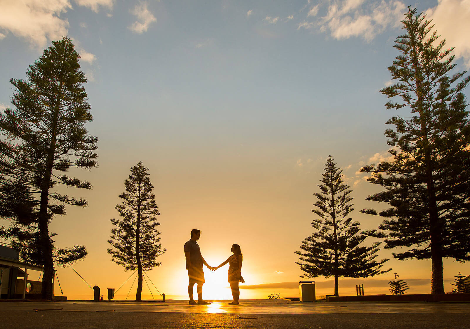 Engagement Photography at Bathers Beach, Fremantle