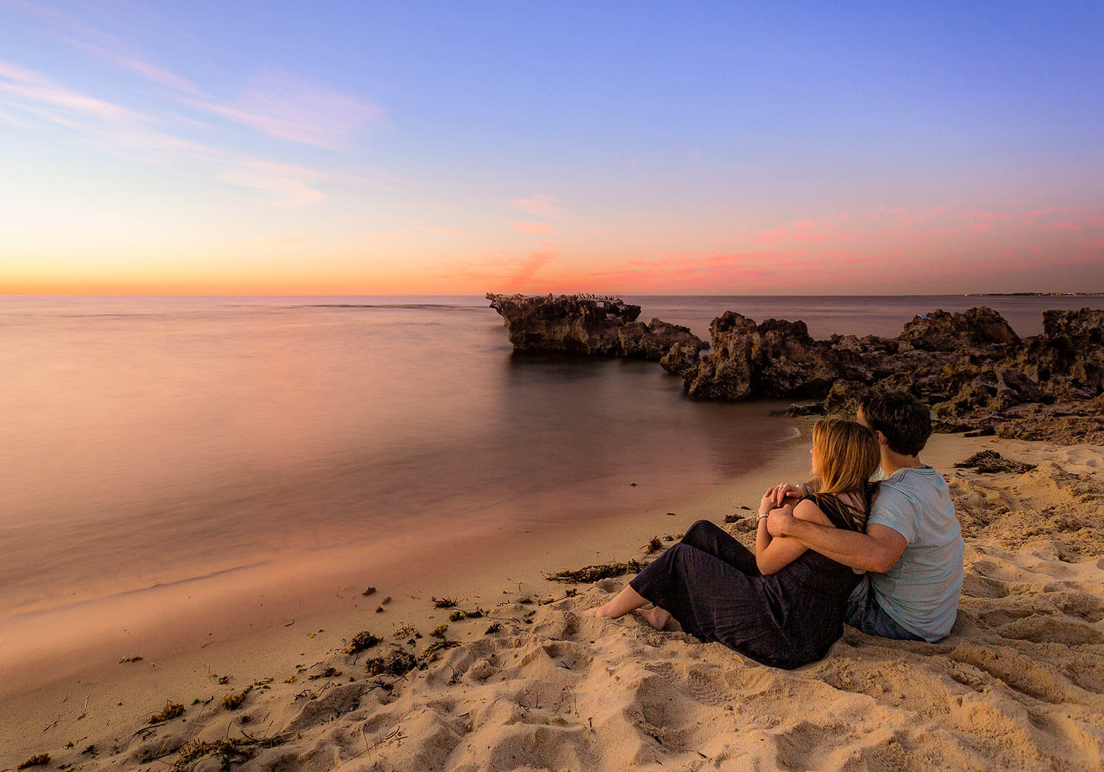 Engagement Photography at Trigg Beach, Perth