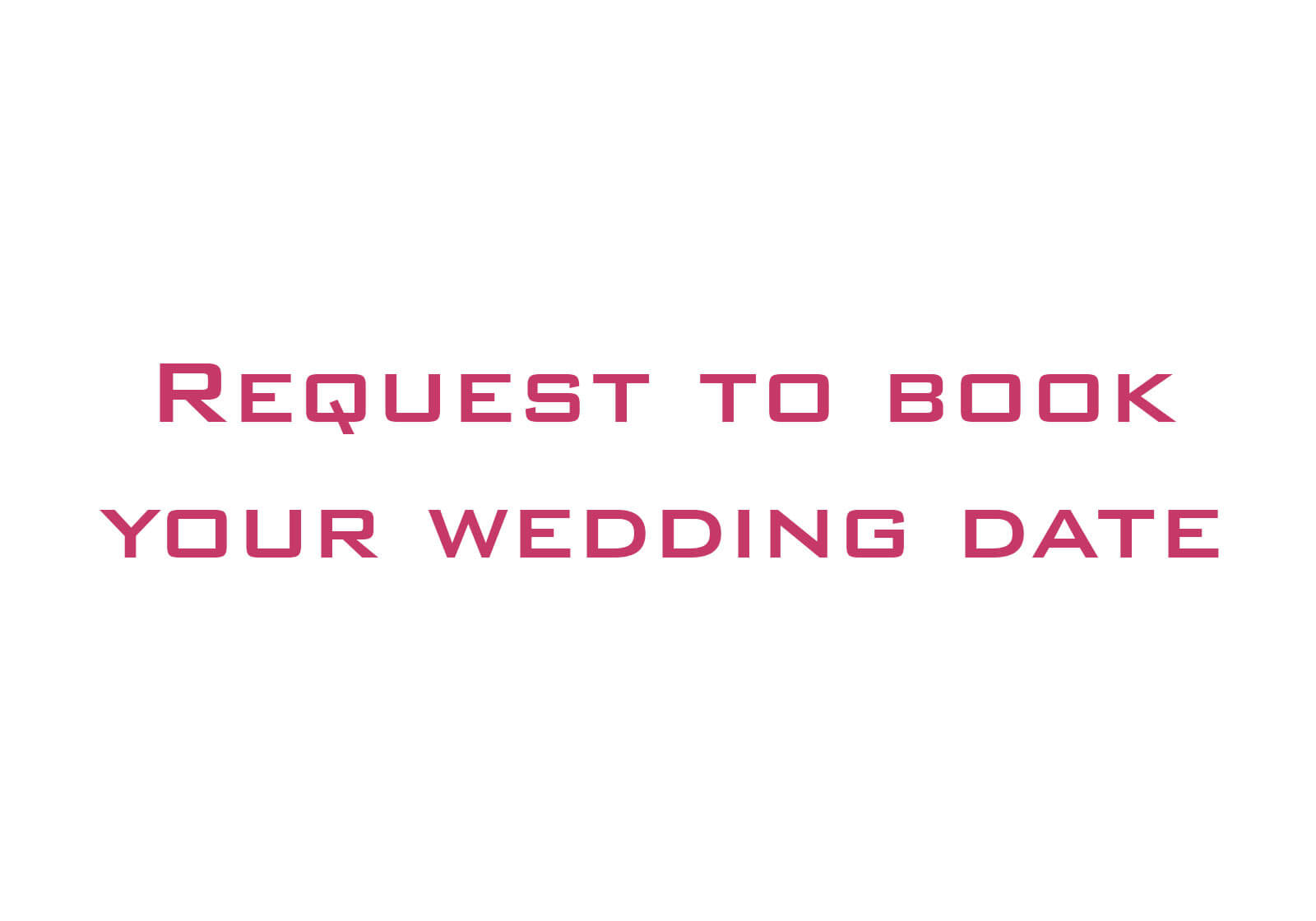 Make a Wedding Photography Booking