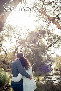 Engagement Photography / Pre-Wedding Shoot at Old Broadwater Farm | Peter Adams-Shawn, Busselton Engagement / Pre-Wedding Photographer, Memories of Tomorrow Photography