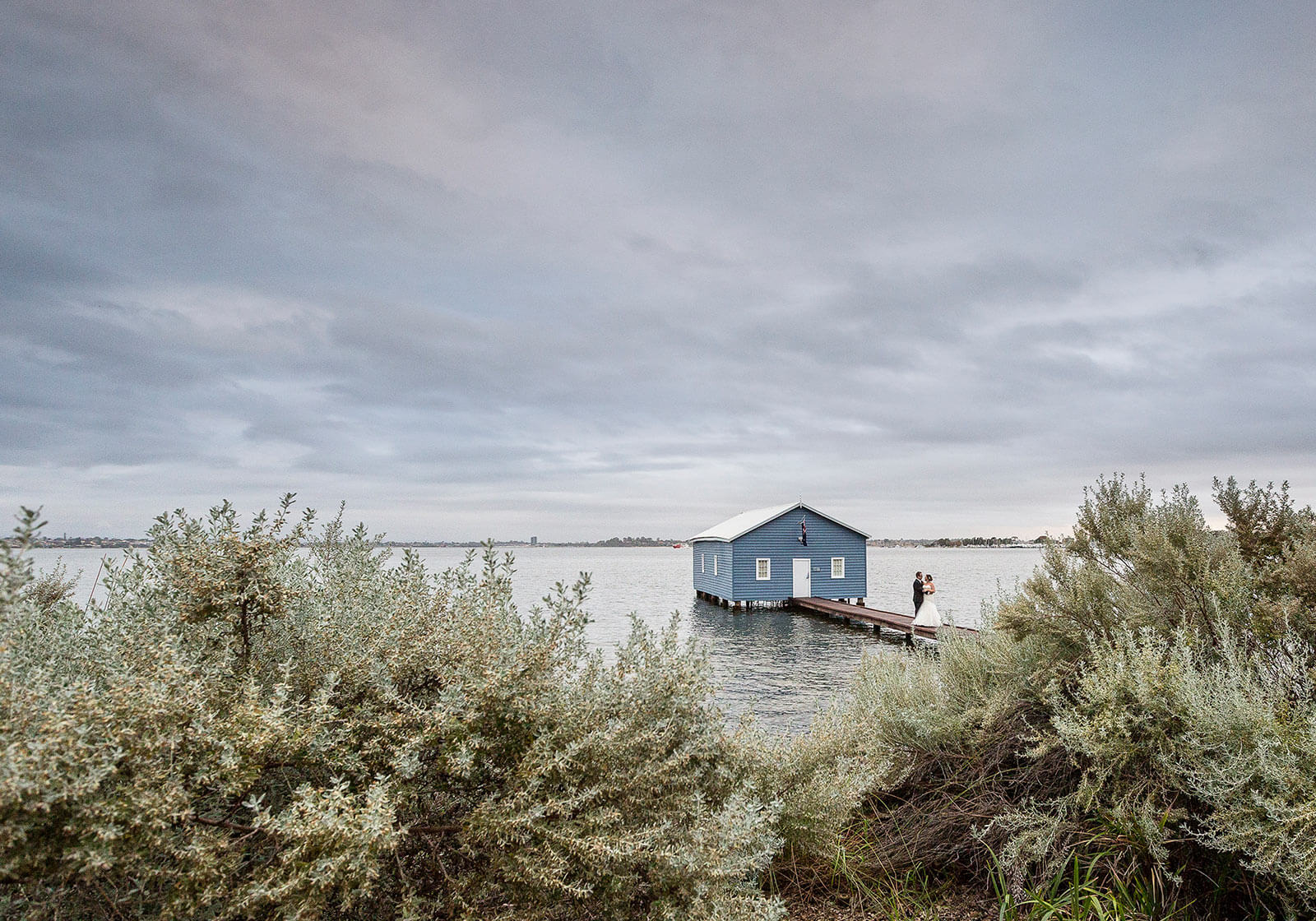 Blue Boat House, Perth Wedding Photography by Peter Adams-Shawn