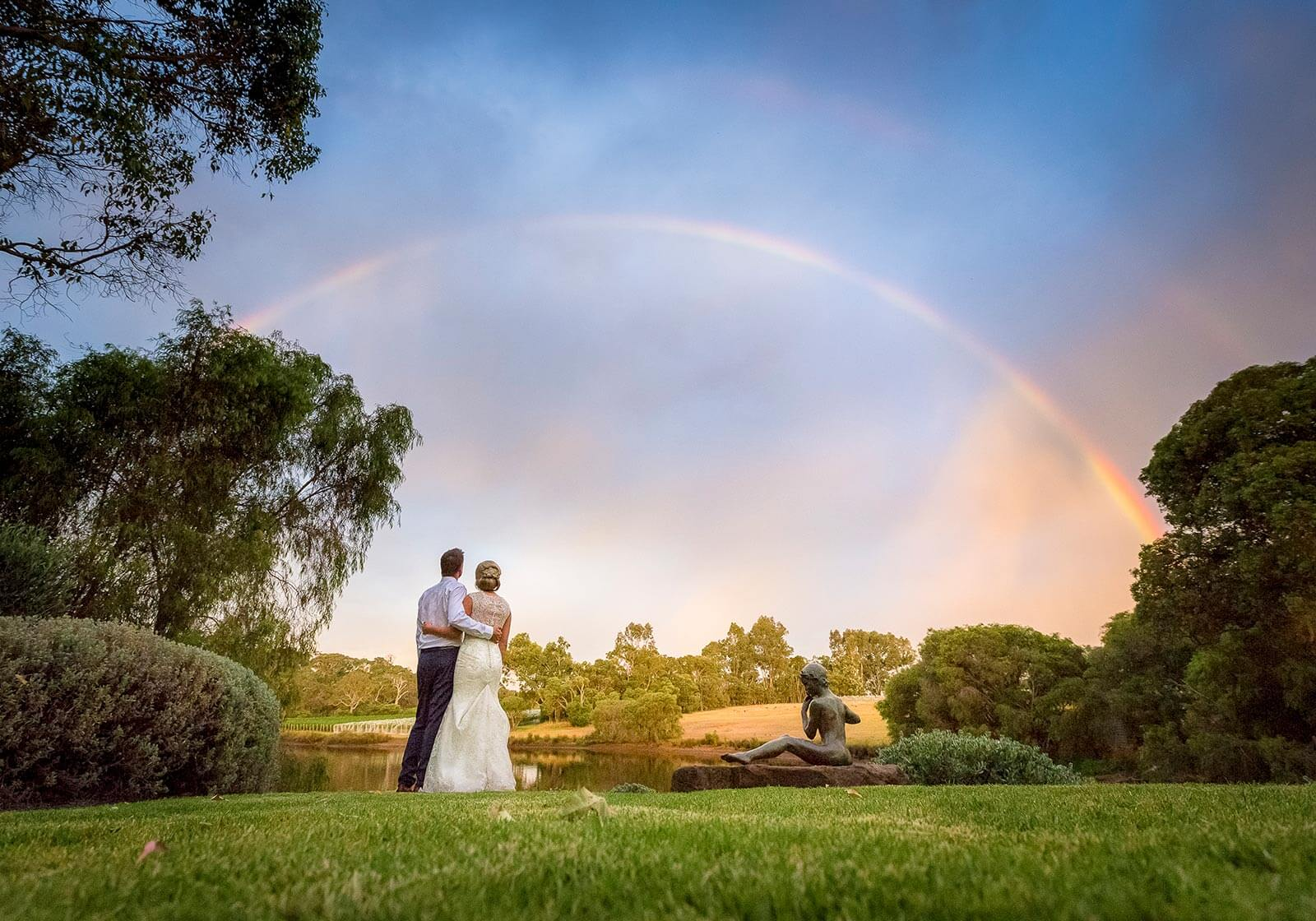 Flutes Restaurant Brookland Valley, Margaret River Wedding Photography by Peter Adams-Shawn