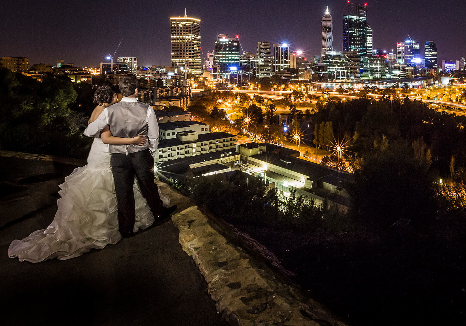 Kings Park, Perth Wedding Photography by Peter Adams-Shawn