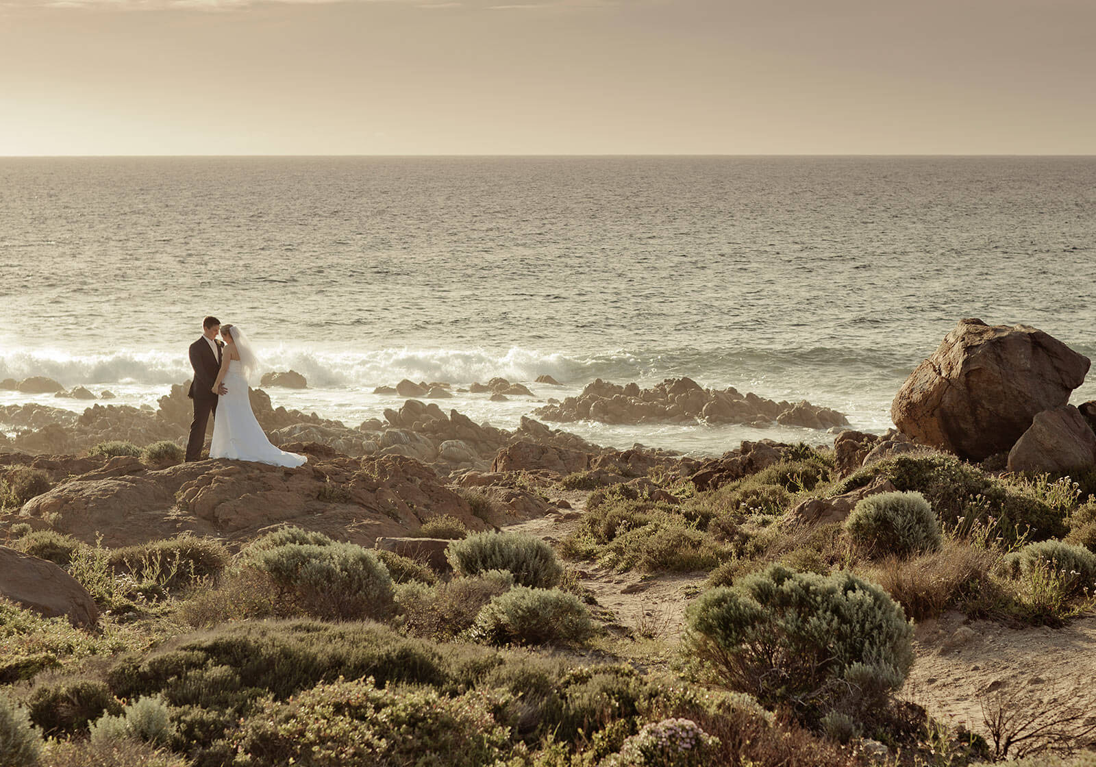 Smiths Beach, Yallingup Wedding Photography by Peter Adams-Shawn
