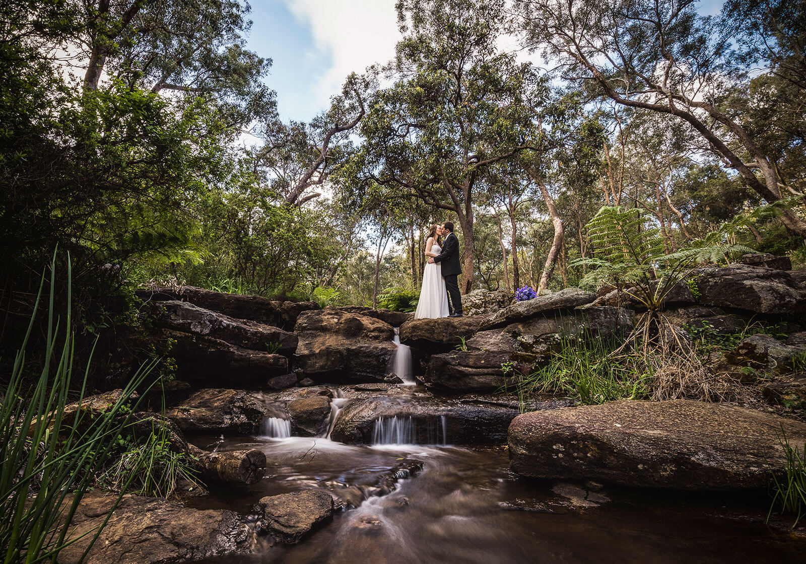 Araluen Botanic Gardens, Perth Wedding Photography by Peter Adams-Shawn
